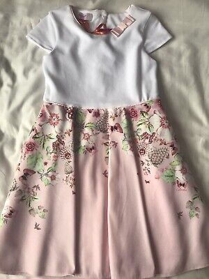 BNWT Ted Baker Girls Dress Age 5-6 Years Old
