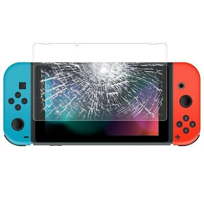 Tempered Glass Screen Protector for Nintendo Switch, Anti-Scratch HD Clear  L8K7
