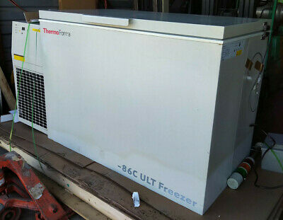 THERMO FORMA  939 -86C ULT FREEZER 195416  BACK UP SYSTEM Sold as is