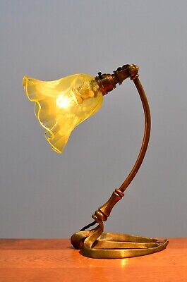 Arts & Crafts Table Lamp From 1890's - WAS Benson