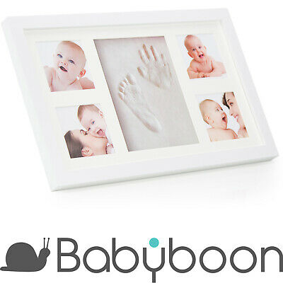Babyboon Hand and Footprint Photo Frame Kit - 4 COLOURS IN ONE PACK