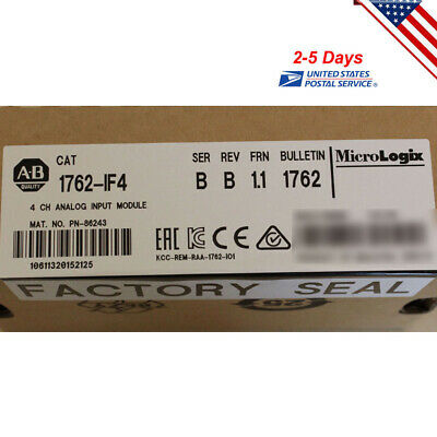 Usa Stock Allen-Bradley 1762-If4 Micrologix 4 Point Analog Input Module