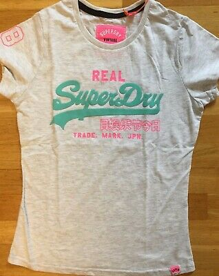 Superdry Bluse G40KY000 26C OPTIC WHITE weiß +NEU+ Sheer Panel Shirt