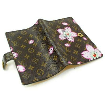 Louis Vuitton Murakami Monogram Cherry Blossom Diary Cover Agenda Mini 871815