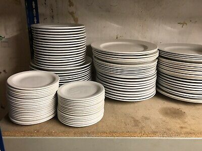 White Crockery Idea For Cafe/casual Restaurant