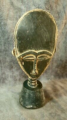 Vintage A special handmade  African Native Statue Wood Figure Hand Carved   1170
