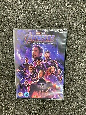 Marvel Studios Avengers End Game Dvd New Sealed