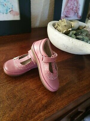Clarks Baby Toddler Girl Shoes Size 4.5 E BNWOT RRP £35