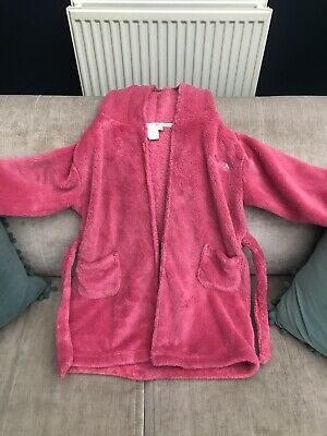 Jasper Conran Girls Pink Dressing Gown Age 4-5