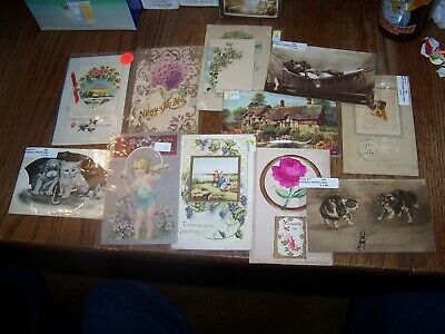Vintage postcards Lot of Miscellaneious Cards