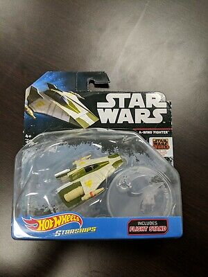 A-WING FIGHTER STARSHIPS STAR WARS REBELS HOT WHEELS HW DIECAST 2016 Brand New!