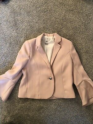 River Island Girls Pale Pink Jacket Age 6