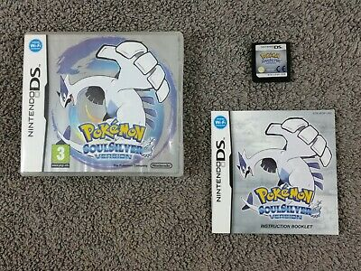 ds POKEMON SOUL SILVER Version *y Soulsilver Lite DSi 3DS REGION FREE PAL UK