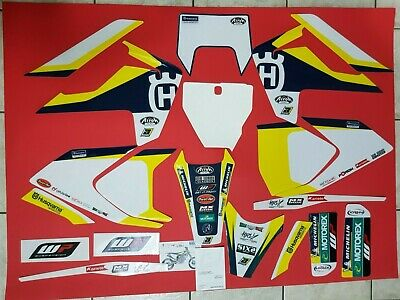 Kit Adesivi Grafiche Stickers Blackbird Husqvarna Fe 250 350 450 501 2017