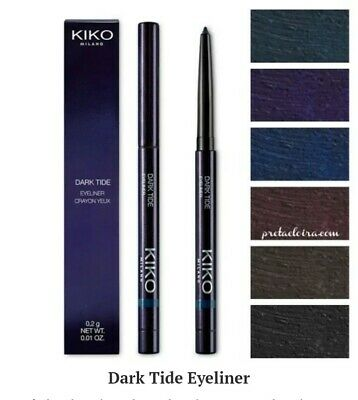 Kiko Milano Dark Tide Eyeliner L.E. Midnight Sirena - 03 Intriguing blue (BNIB)