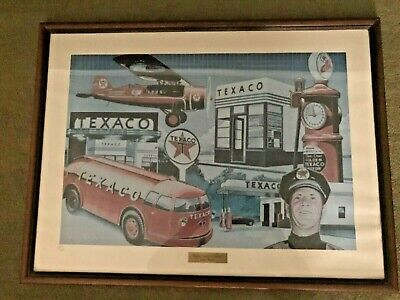 """Texaco Numbered Print, Period Winner, """"Building Tomorrow Together"""""""