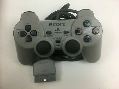 Genuine Sony Playstation 2  Dualshock  Controller Grey