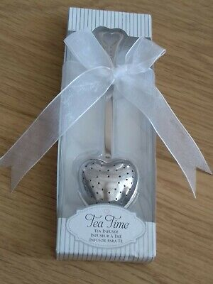 Heart Shaped Tea Infuser Tea Lovers' Perfect Gift Brand New In Decorative Box