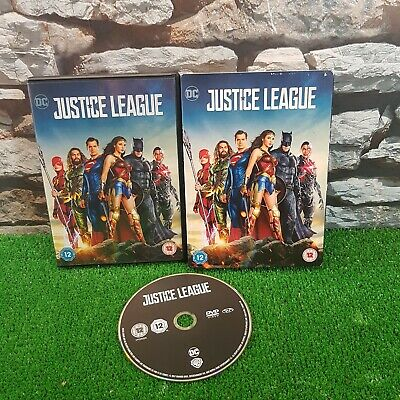 Justice League DVD 2018 Ben Affleck, Snyder Free P&P