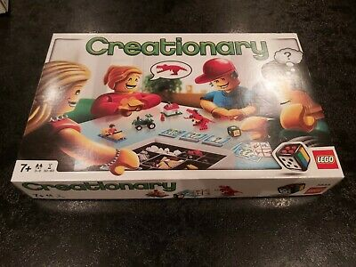 Retired - Lego Creationary 3844 - Complete and Boxed with Instructions