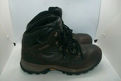 Hi Tec brown leather walking boots size 8.5