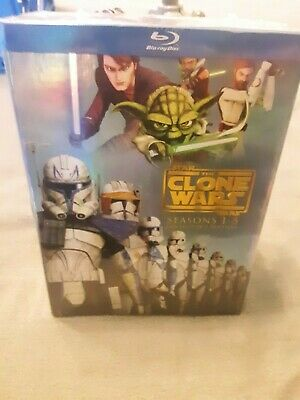 Star Wars: The Clone Wars -The Complete Seasons 1-5 Collectors Edition BLU-RAY
