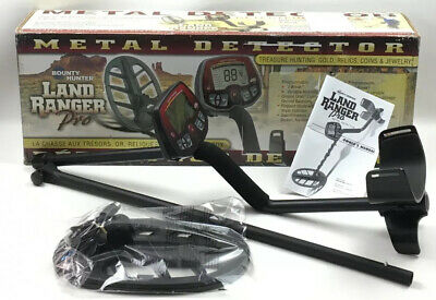 Barely Used, Not Abused, Bounty Hunter Land Ranger Pro Metal Detector