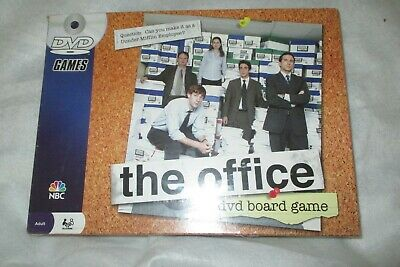 "New/Sealed ""The Office DVD Board Game 2008 Pressman Toy Corp."