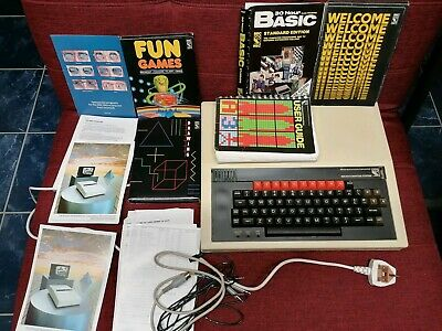 BBC Model B Micro Computer with User Manual, 30 Hour Basic and Games