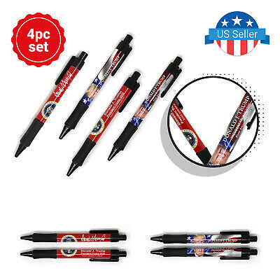 President Donald Trump Ball Pen Presidential Election Campaign Pens Pack of 4