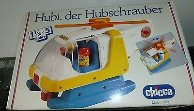 Chicco Vintage Helicopter No 64146 - With Two Pilots