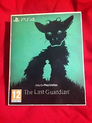 The Last Guardian PS4 New Only On Playstation Collection Original Sleeve & Game