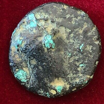 Antiochus III (Seleucid King)  Bronze Coin. Ancient Greek coin.