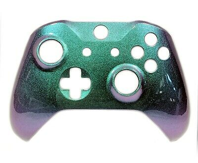 Xbox One Controller Custom Chameleon Green Replacement Front Shell Face-Plate