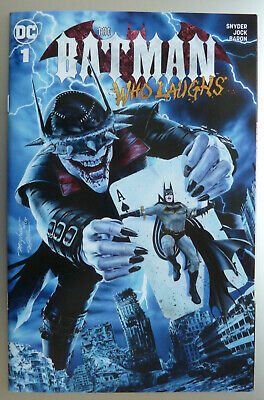 Batman Who Laughs #1 - Mayhew Modern Trade Dress Variant Limited to 1500