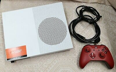 Microsoft Xbox One S 1TB Video Game Console, With 1 Controller - USED
