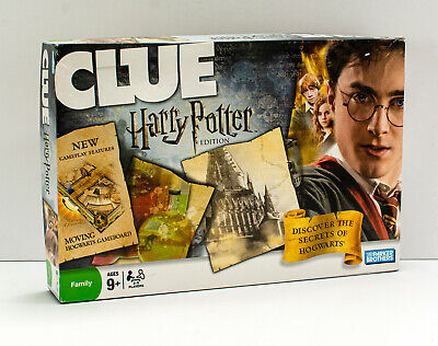 Clue Board Game  - The 2008 Harry Potter Edition