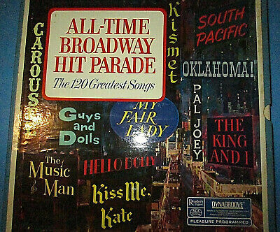 All Time Broadway Hit Parade 120 Greatest Songs RDA 35-a RCA Custom 10 lp set