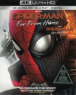 Spiderman Far From Home (4K Ultra Hd/Bluray)(2 Disc Set)(Used)