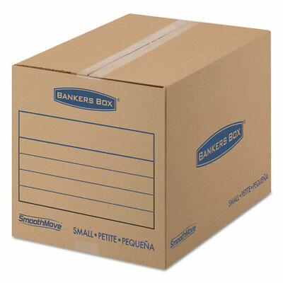 Fellowes SmoothMove™ Basic Moving Boxes, Small - Internal Dimensions: 12""