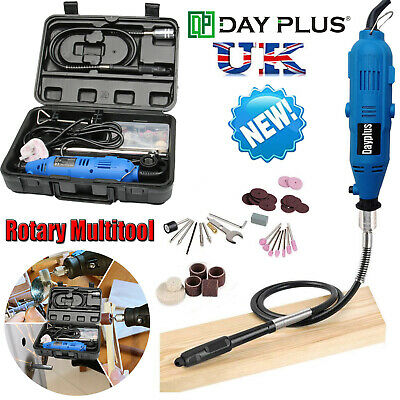UK 80 PIECE Accessories Dremel Set Variable Speed Rotary Cutter Tool Kit Grinder