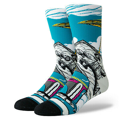 Stance Troop StarWars Stormtrooper White Grey Medium Crew Cushion Sock Mens6-8.5