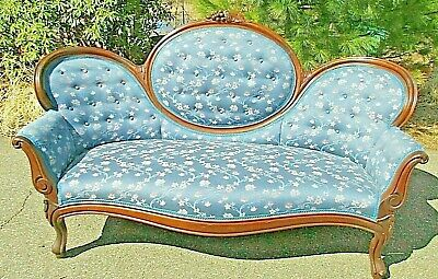 Cameo Back Sofa antique Victorian DELIVERY to most Destinations AVAILABLE ask me