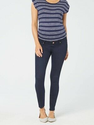 Jeanswest Maternity Skinny Jeans Absolute Indigo Short Length Size 8 As New