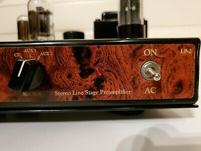 INSPIRE LP-2 TUBE PREAMPLIFIER by DENNIS HAD LINE STAGE PREAMP stereo