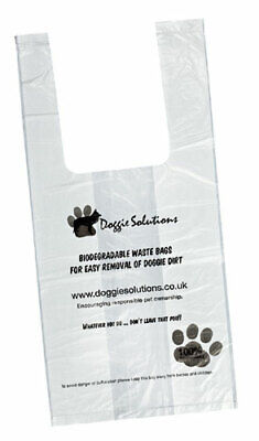 Dog Puppy Poo Poop Scoop Waste Bags Large Biodegradable