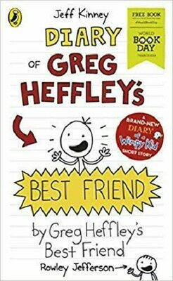 Diary of Greg Heffley's Best Friend Rowley Jefferson Jeff Knney World Book Day