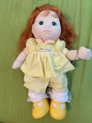 My Child Doll Girl Strawberry Hair Blue Eyes Original Dress Shoes Necklace