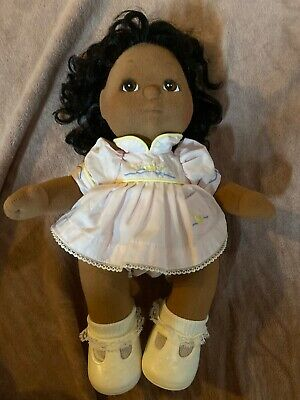MATTEL - My Child Doll Girl African Original Outfit Dress Shoes 1980s