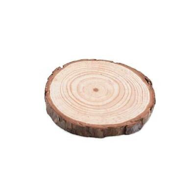Unfinished Natural Round Wood Slices Circles Discs For Crafts 3-4cm*0.5cm M7C5